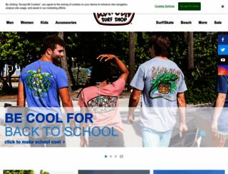 ronjonsurfshop.com screenshot