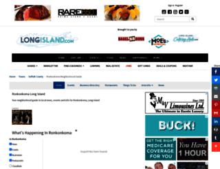 ronkonkoma.longisland.com screenshot