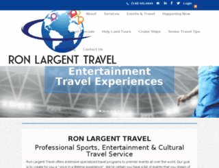 ronlargent.com screenshot