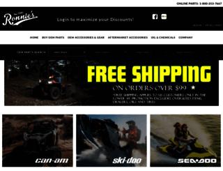 ronniesmailorder.vnexttech.com screenshot