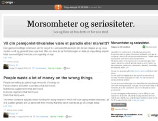 ronnysblogg.origo.no screenshot