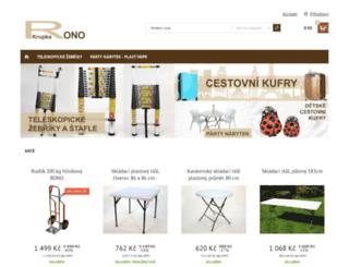 rono.cz screenshot