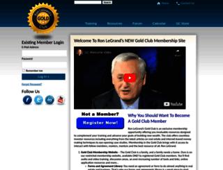 ronsgoldclub.com screenshot
