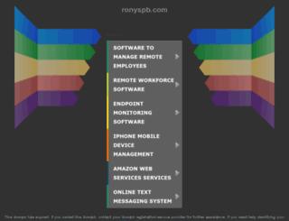 ronyspb.com screenshot