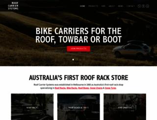 roofcarriersystems.com.au screenshot