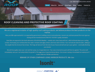 roofcoatingspecialists.co.uk screenshot