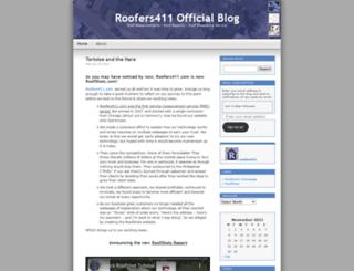 roofers411.wordpress.com screenshot