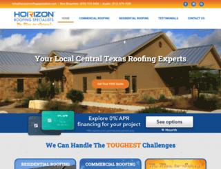 roofinghorizon.com screenshot