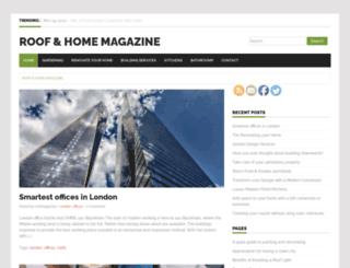 roofmagazine.org.uk screenshot
