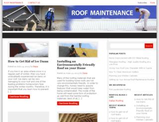 roofmaintenance.org screenshot