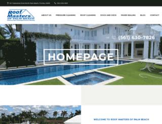roofmasterspb.com screenshot