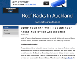 roofracks.bravesites.com screenshot