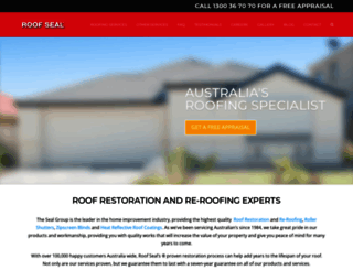 roofseal.com.au screenshot