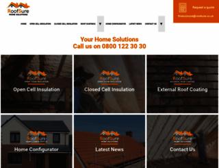 roofsure.co.uk screenshot