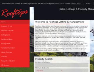rooftops.co.uk screenshot