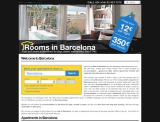 roombarcelona.com screenshot