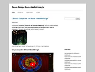 roomescapewalkthroughs.com screenshot