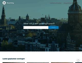 rooming.nl screenshot