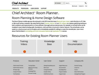 roomplanner.chiefarchitect.com screenshot