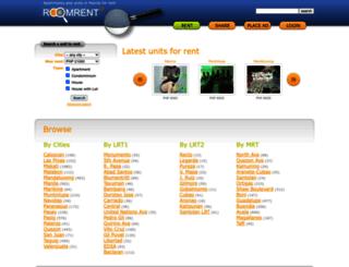 roomrent.ph screenshot