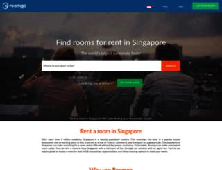 roomrental.com.sg screenshot