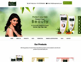 roopmantra.com screenshot