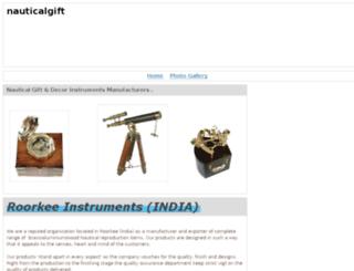 roorkeeinstruments.webs.com screenshot