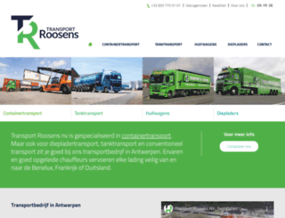 roosens.be screenshot