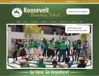 roosevelt.sbunified.org screenshot