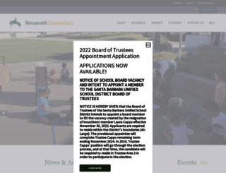 roosevelt.sbunified.org screenshot