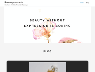 roosterpheasants.com screenshot
