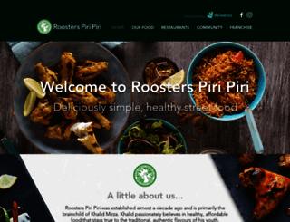 roosterspiripiri.com screenshot
