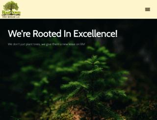 rootdowntreeservice.com screenshot