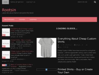 rootsin.com screenshot