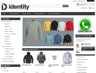 ropa-corporativa.cl screenshot