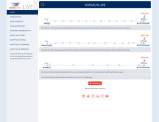 roparunlive.nl screenshot