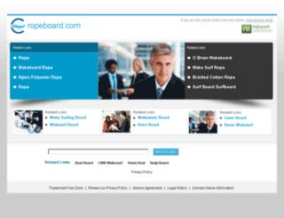 ropeboard.com screenshot