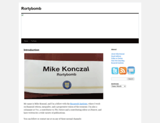 rortybomb.wordpress.com screenshot