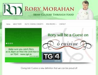 rorymorahan.ie screenshot