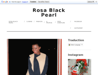 rosa-black-pearl.com screenshot