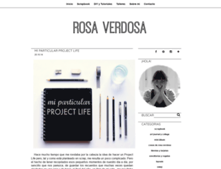 rosa-verdosa.blogspot.com screenshot