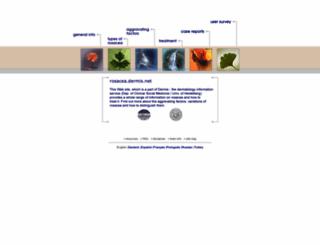 rosacea.dermis.net screenshot