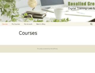 rosalindgreenonline.com screenshot