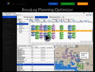 rosalog.com screenshot