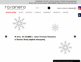 rosanero.pl screenshot