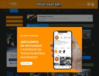 rosariogarage.com.ar screenshot