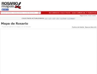 rosariomapas.com screenshot