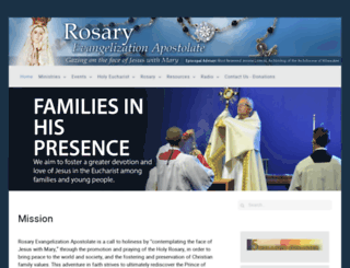 rosaryea.org screenshot