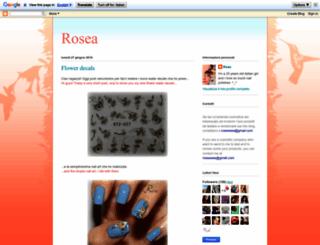 rose-roseee.blogspot.com screenshot