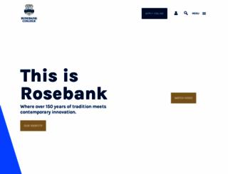 rosebank.nsw.edu.au screenshot